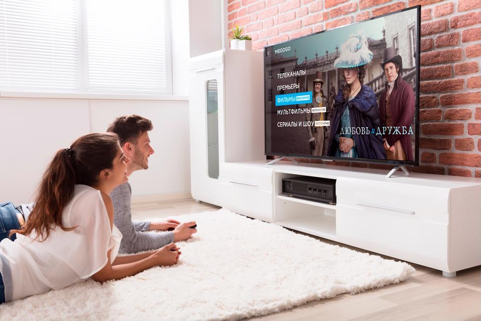 Один из крупнейших видеосервисов в СНГ для просмотра Кино и ТВ