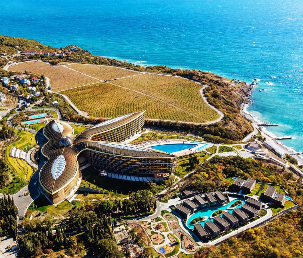 MRIYA RESORT & SPA премиальный курорт в Крыму